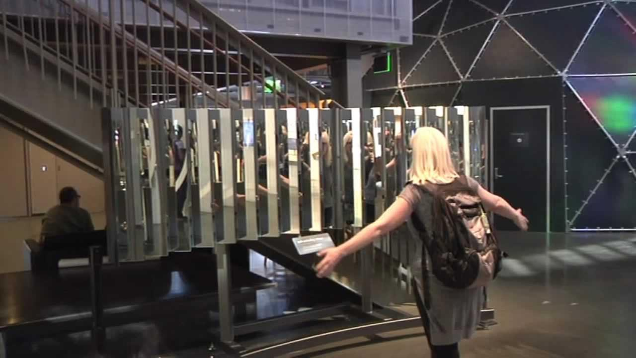 A new exhibit at the Exploratorium in San Francisco has visitors learning about themselves.