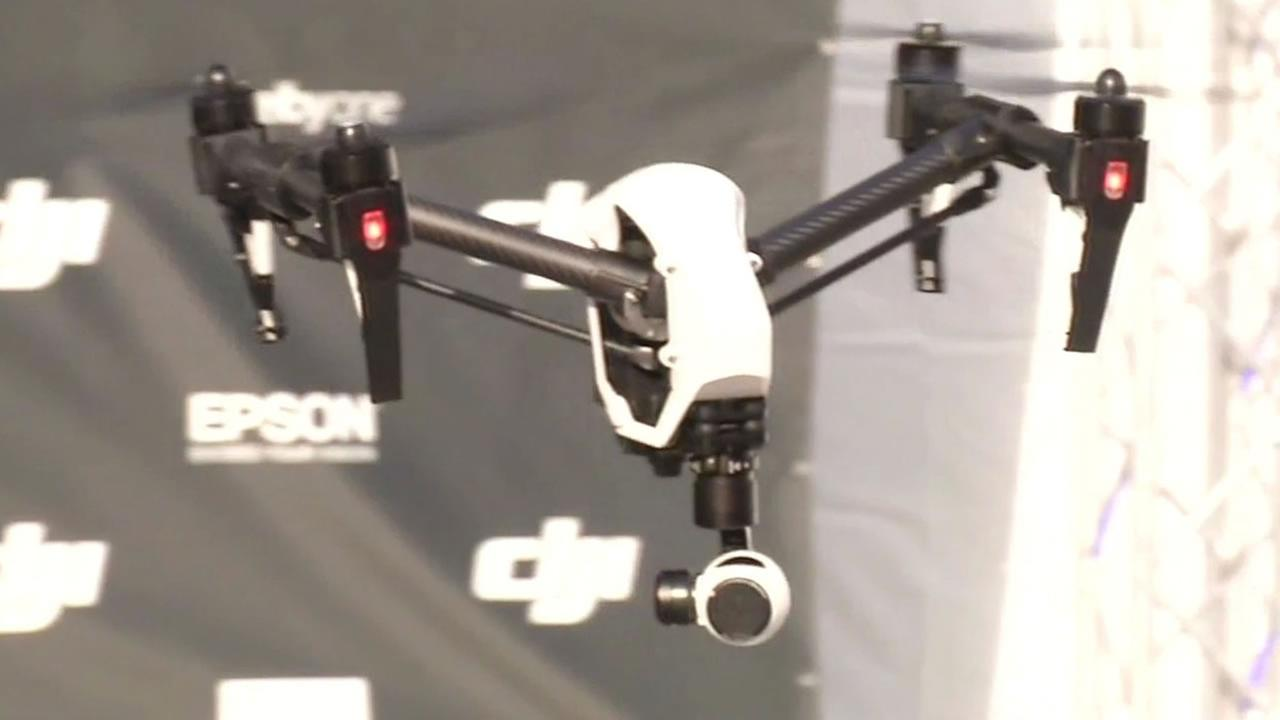 At an event on Treasure Island, Eric Cheng unveiled DJIs new drone, the Inspire One.