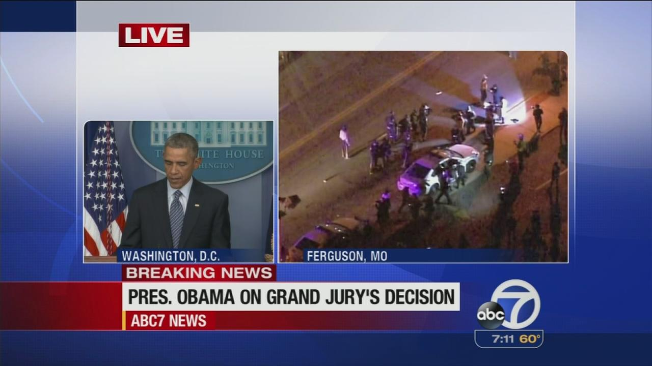 VIDEO: President Obama speaks about Ferguson decision