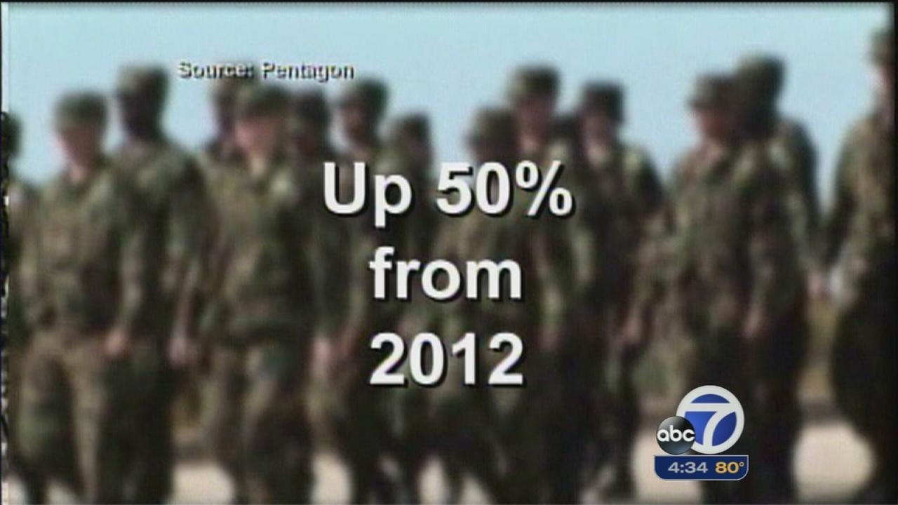 More than 5,000 reports of military sexual abuse in 2013