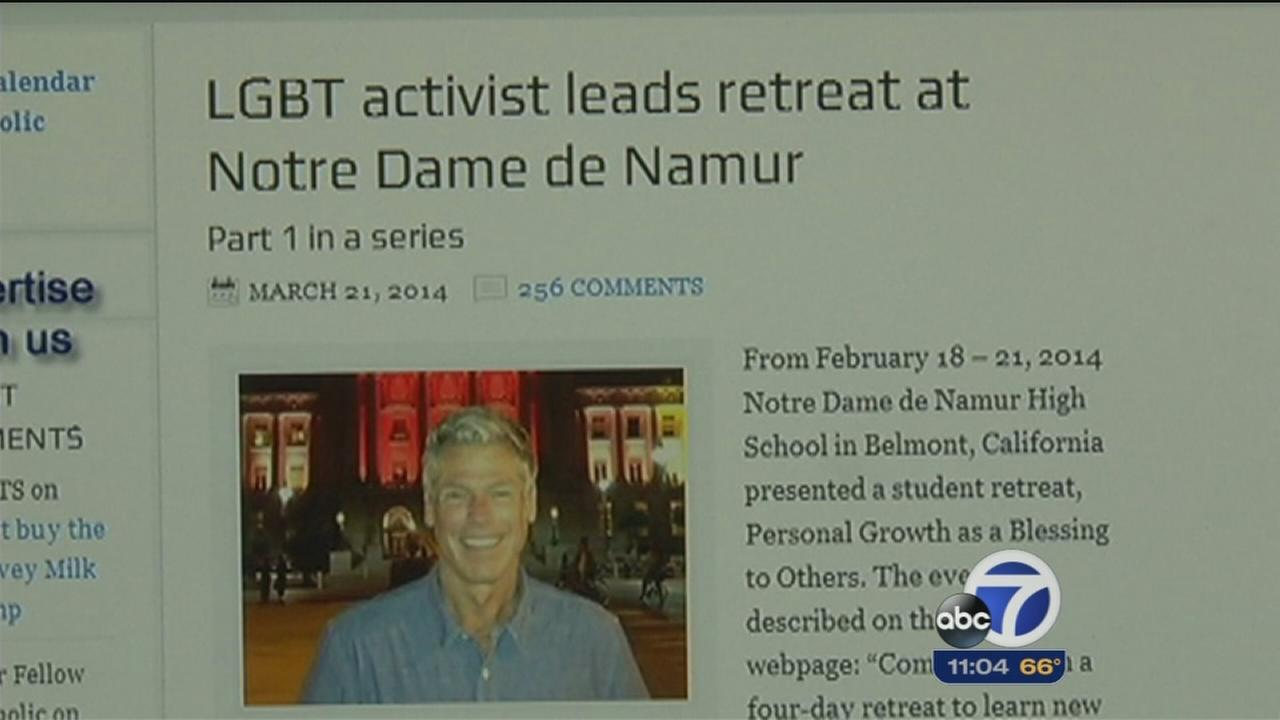 Notre Dame High cancels LGBT speaker