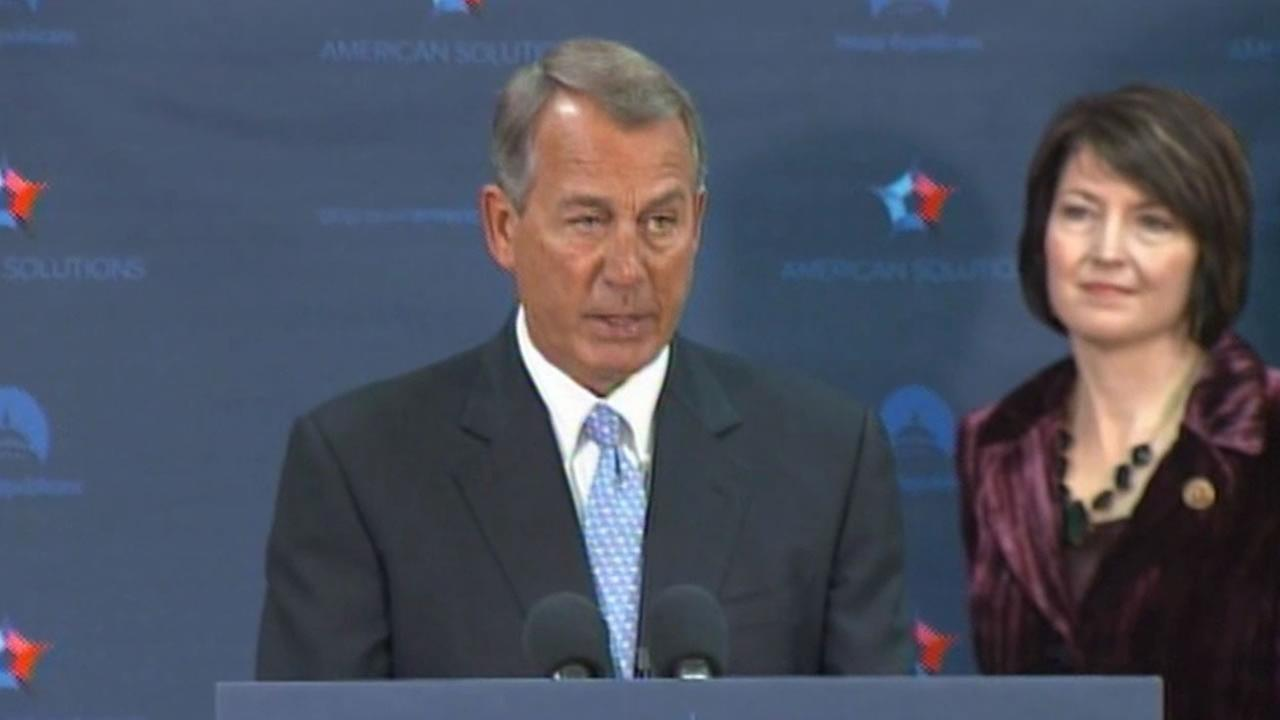 House Speaker John Boehner said lawmakers could vote to undo President Obamas immigration order that many feel oversteps his presidential powers.