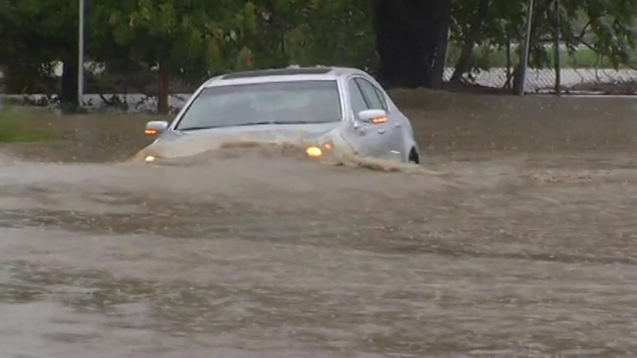 Rohnert Park Expressway flooding