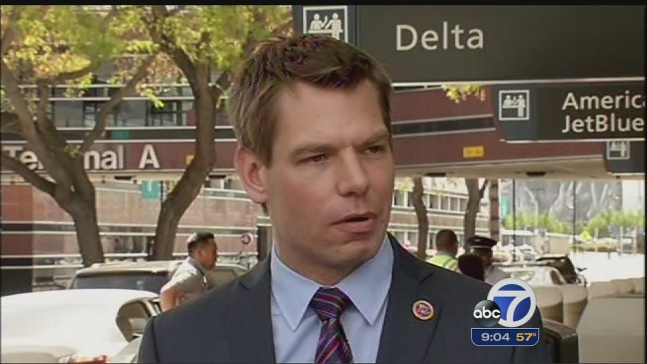 East Bay congressman tours SJ airport