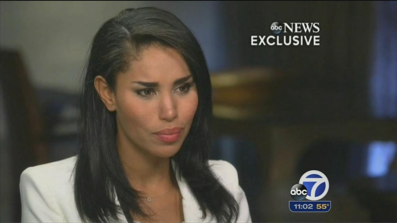 V. Stiviano sits down with Barbara Walters
