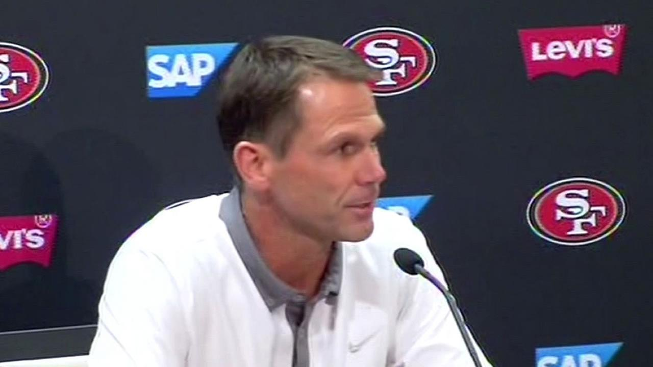 49ers general manager Trent Baalke