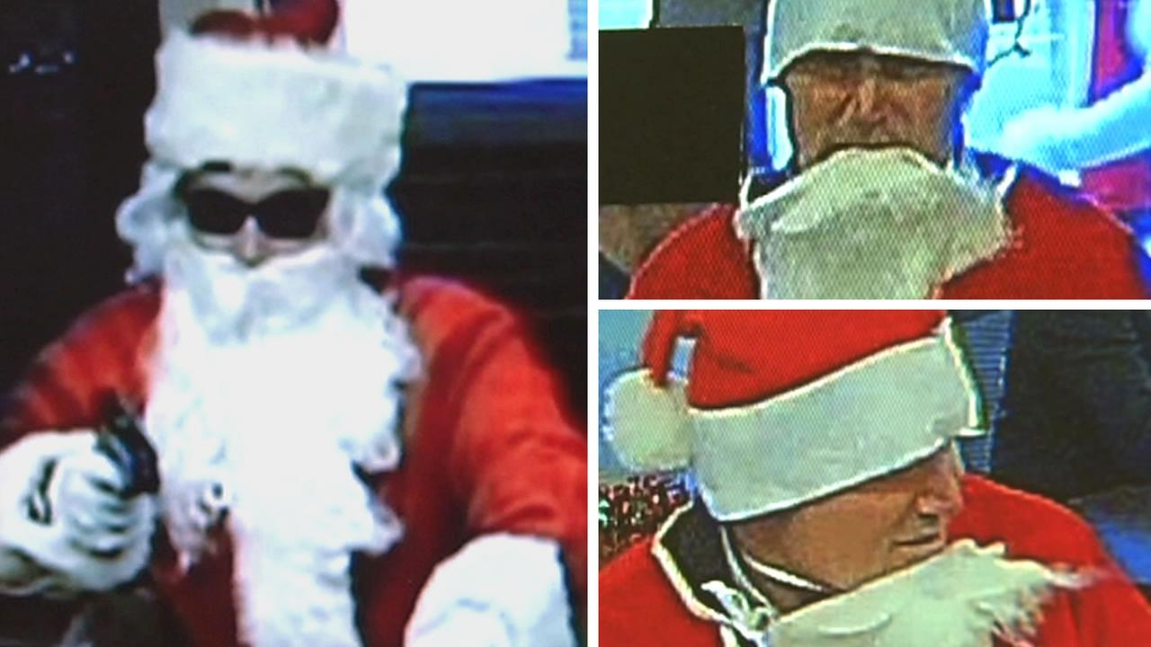 Santa robber in San Francisco