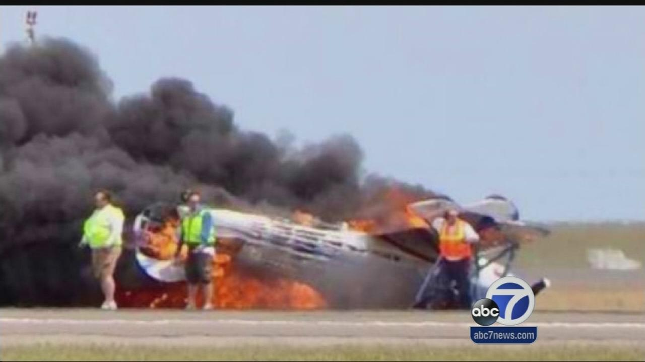 Pilot performed stunt just before crash