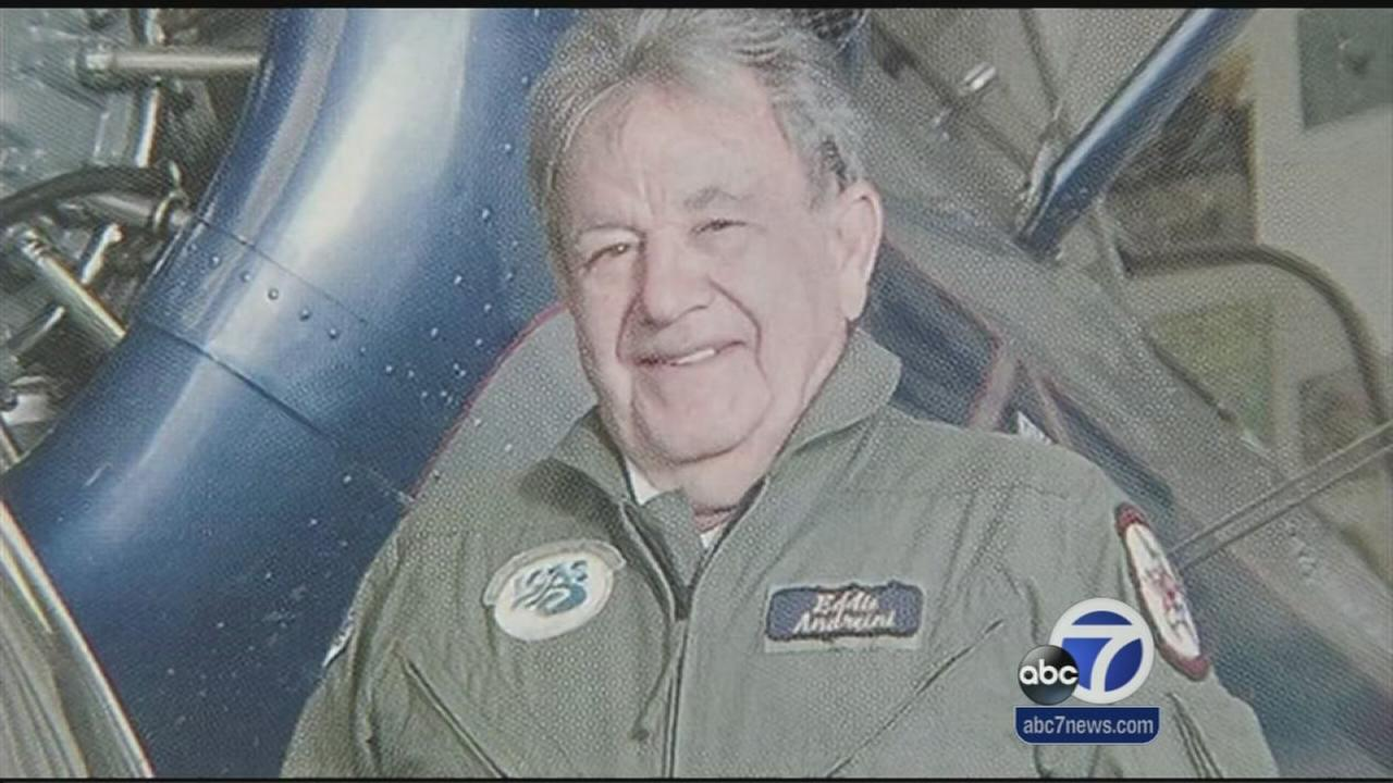 Friends share memoris of beloved pilot