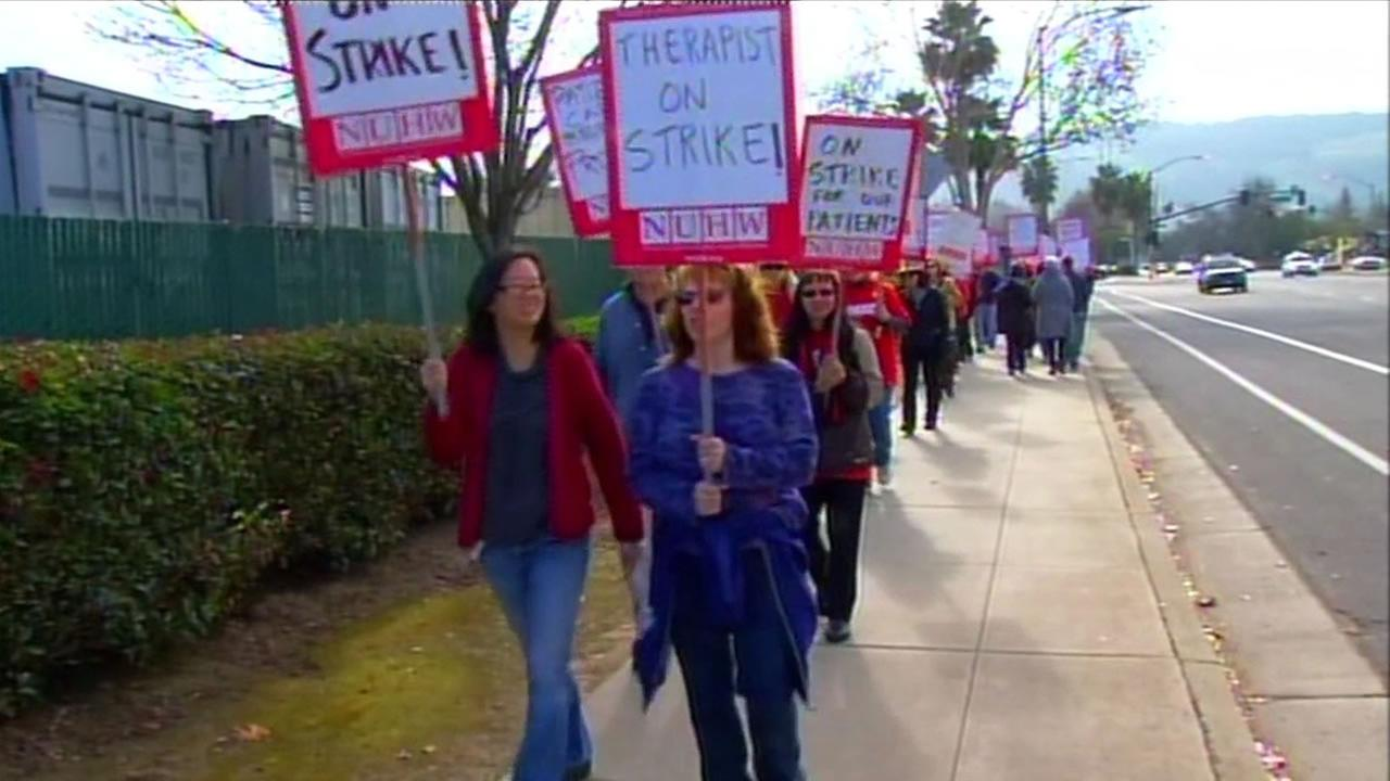 Kaiser employee strike