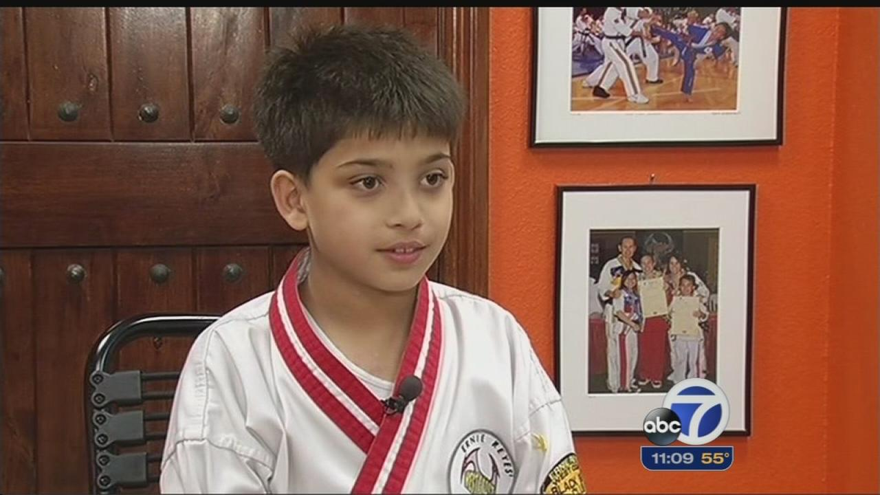 South Bay boy with heart condition chases black belt