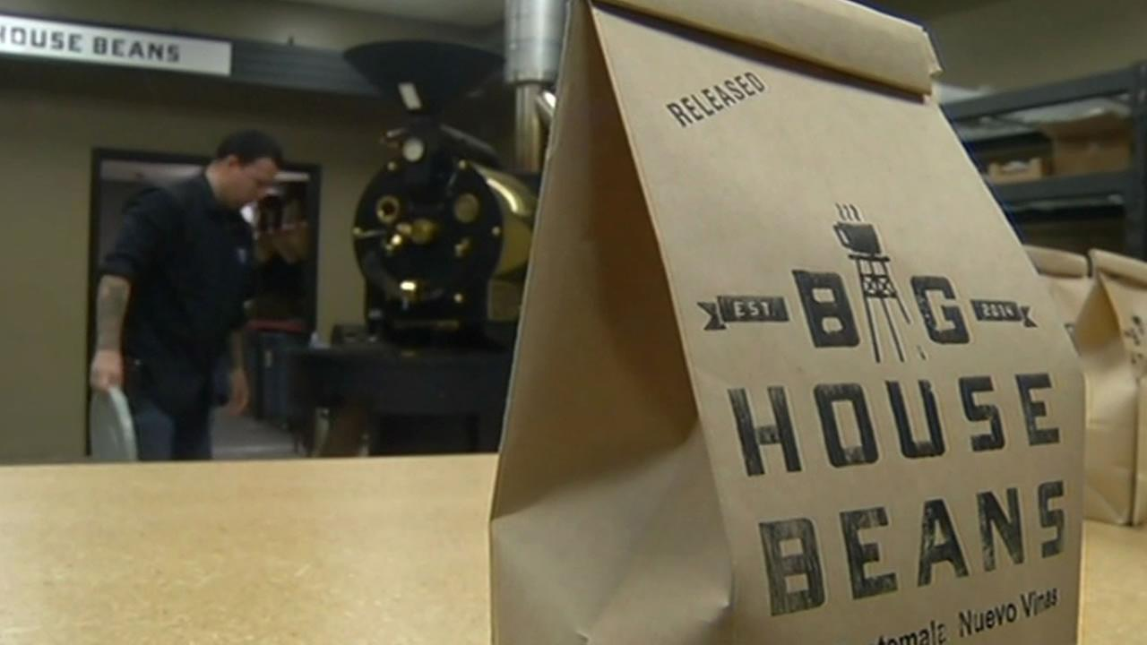 Big House Beans coffee bag