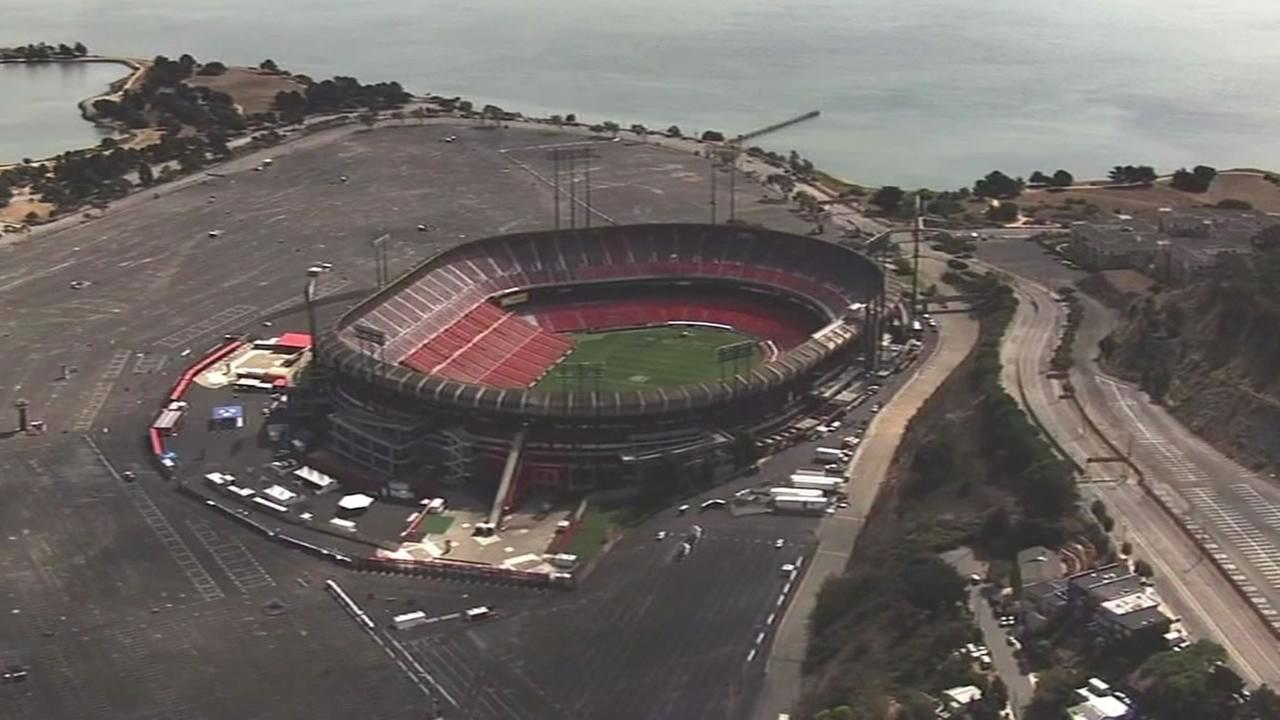 Candlestick Park will no longer go down with a bang. Instead it will be dismantled.