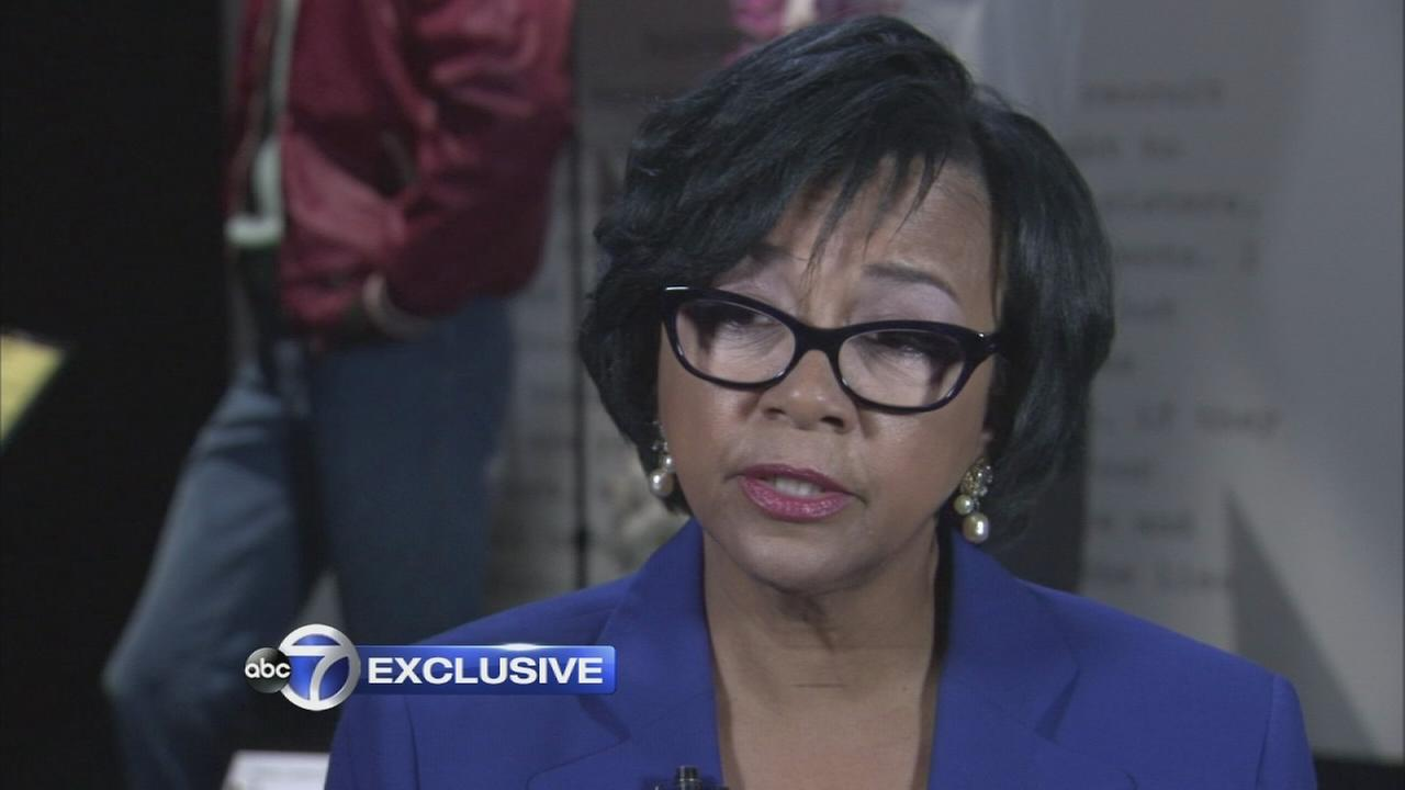 Cheryl Boone Isaacs talks exclusively on camera to Sandy Kenyon