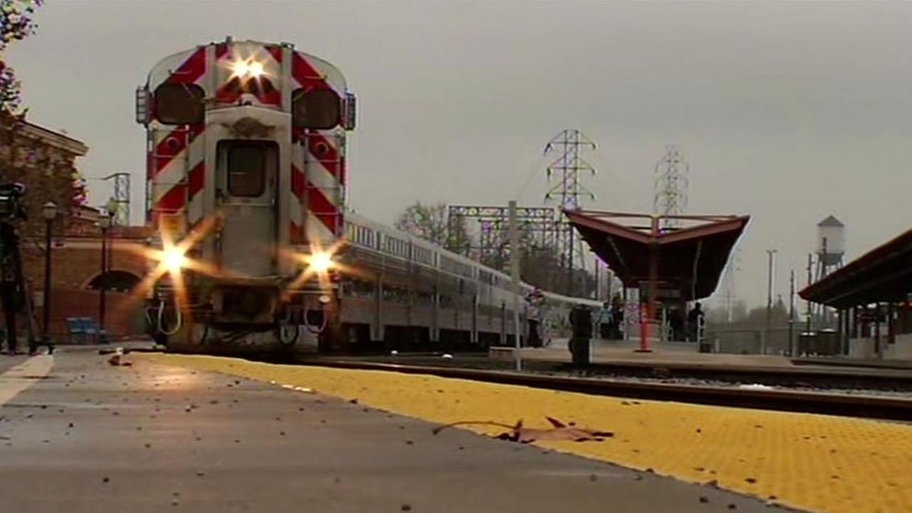 The Freedom Train that ran its last trip on Monday, Jan. 19, 2015 (KGO).