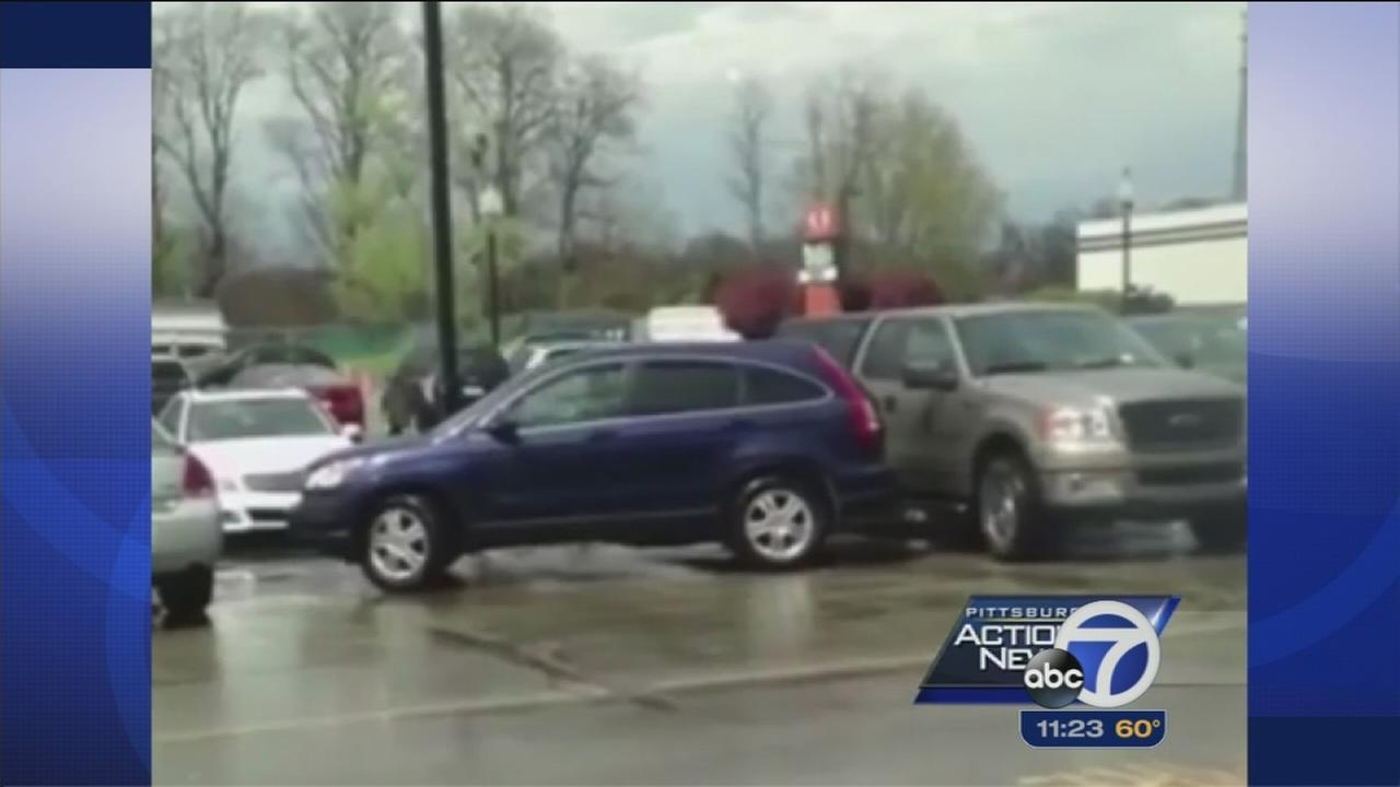Pennsylvania parking fail caught on camera