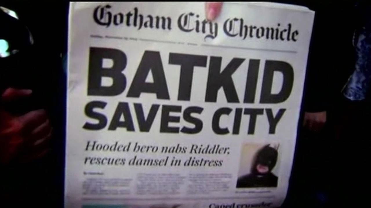 Miles the Batkid, along with a cast of thousands, rescued San Francisco and gave hope to all of us.