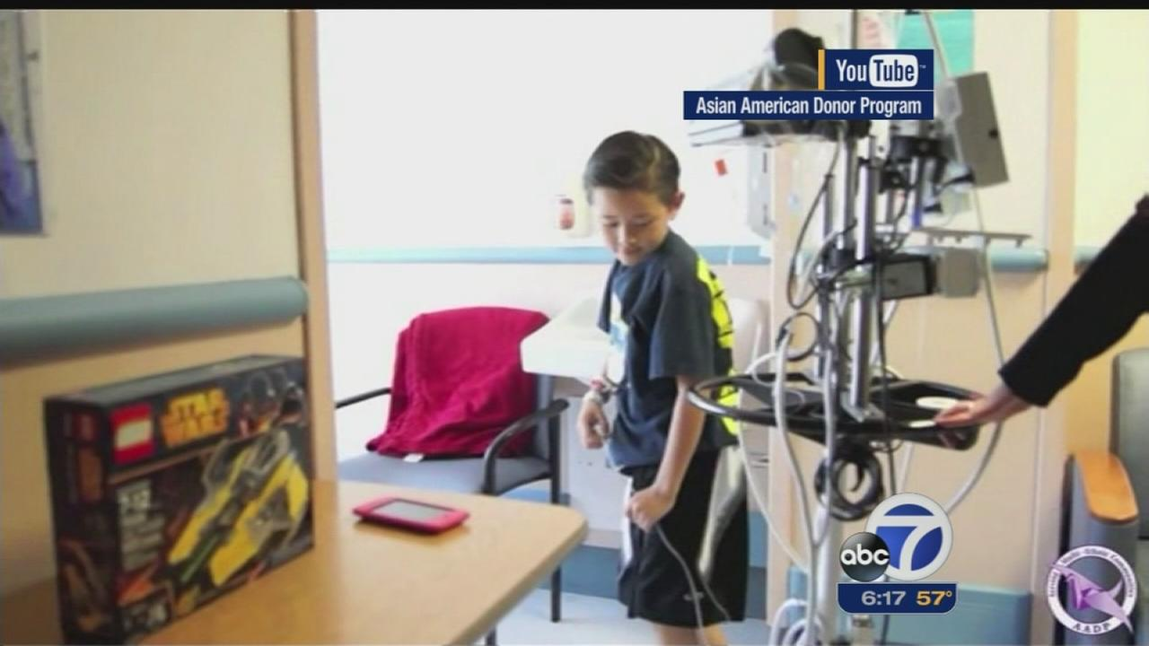 Bi-racial boy searching for life-saving bone marrow match