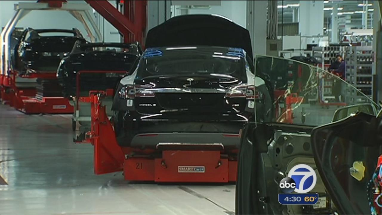 Fremont plant expansion plans cost Tesla