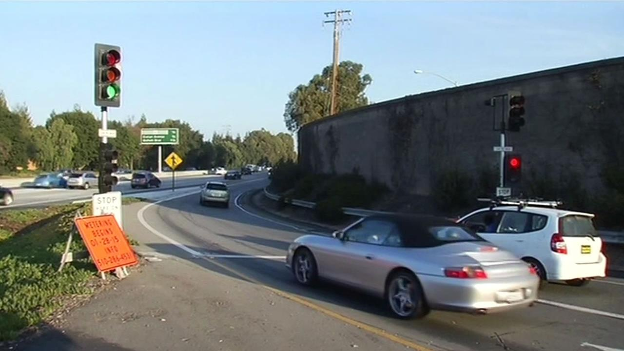 New metering lights were activated Wednesday on Highway 85 in the South Bay for the morning commute.