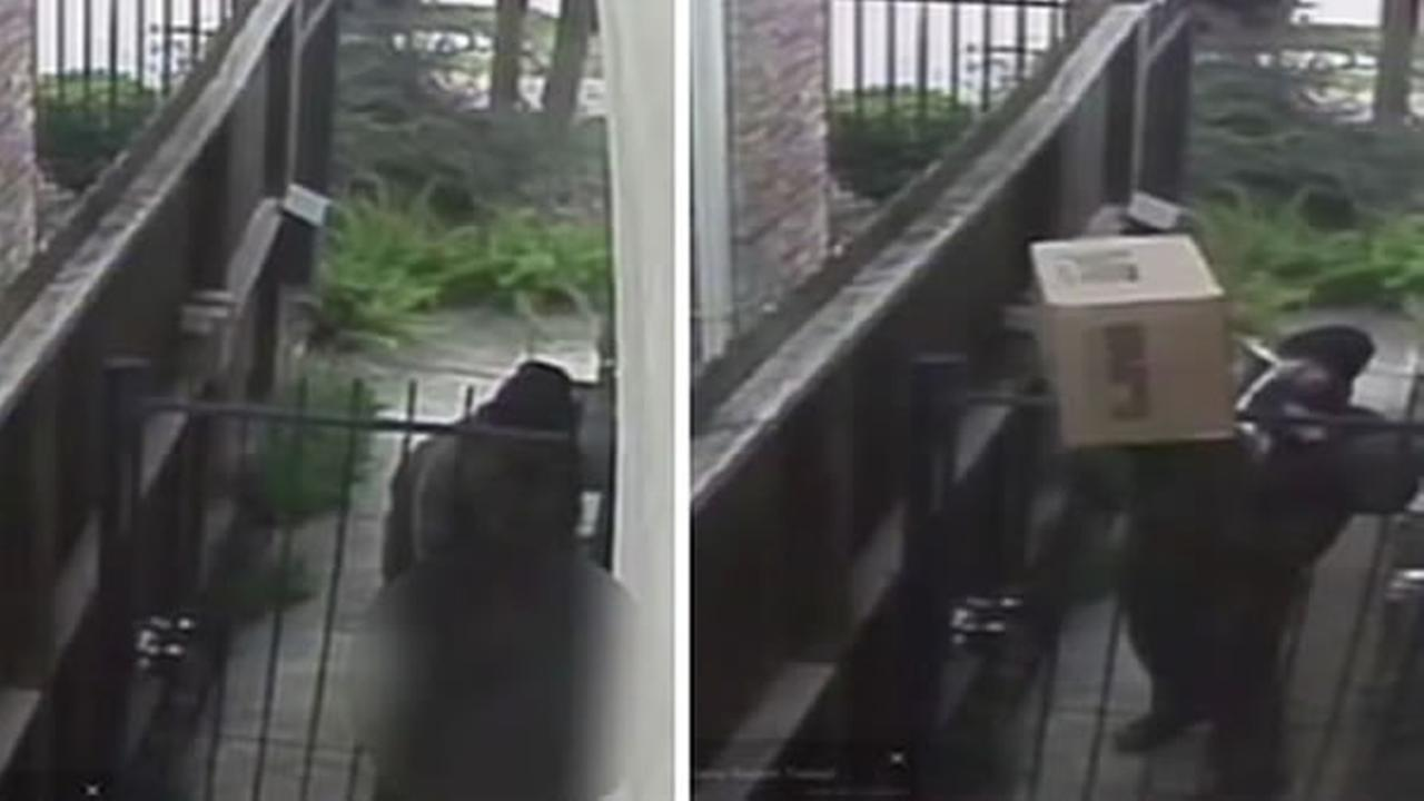 A UPS delivery driver has been fired after he was caught on home surveillance video doing some unsavory things.