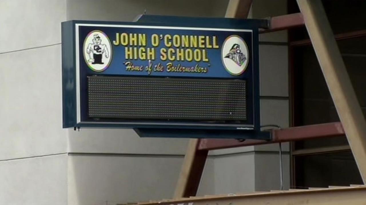 John OConnell High School in San Francisco.