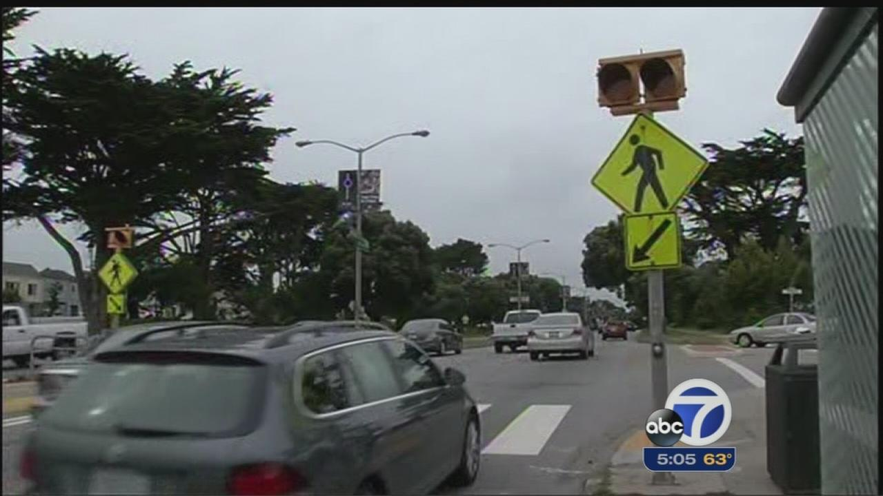 Sunset Boulevard sees another pedestrian accident