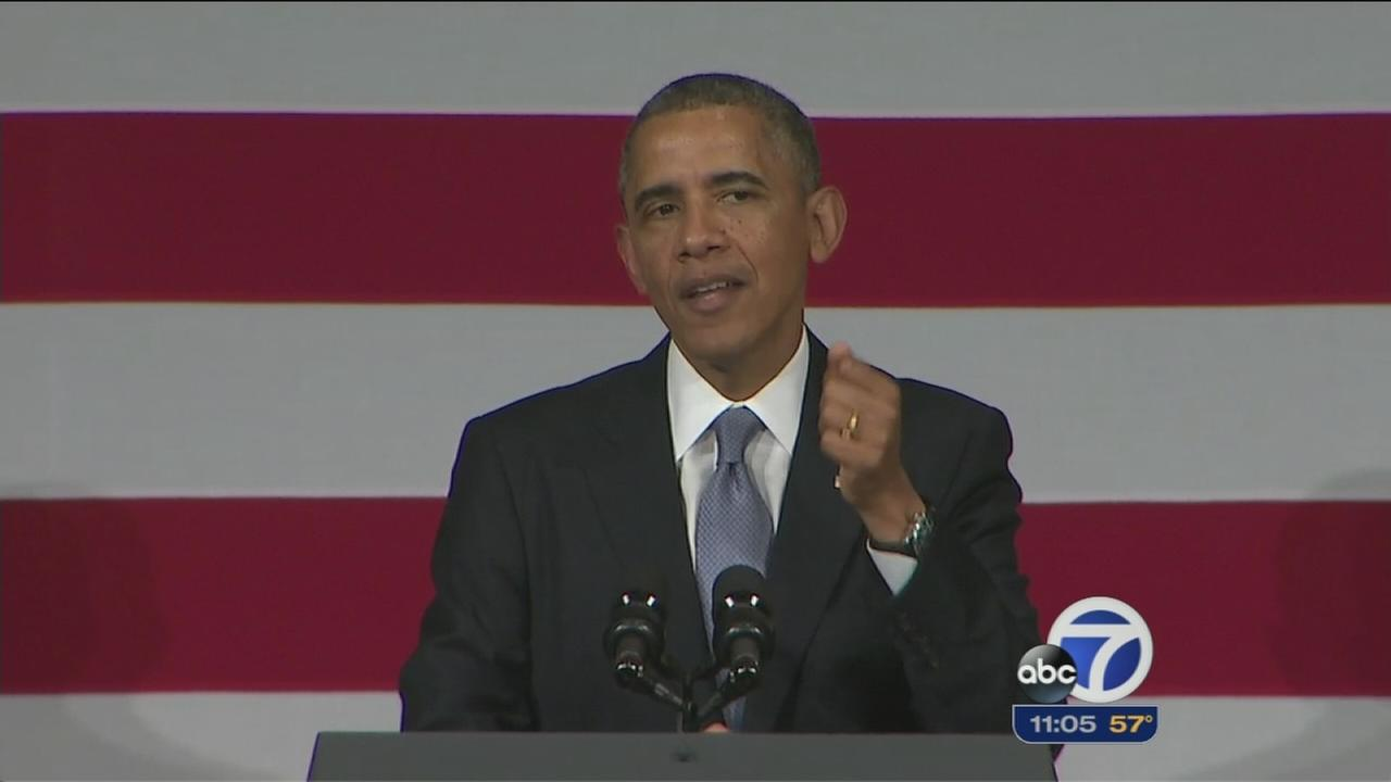 President Obama attends fundraisers in Bay Area