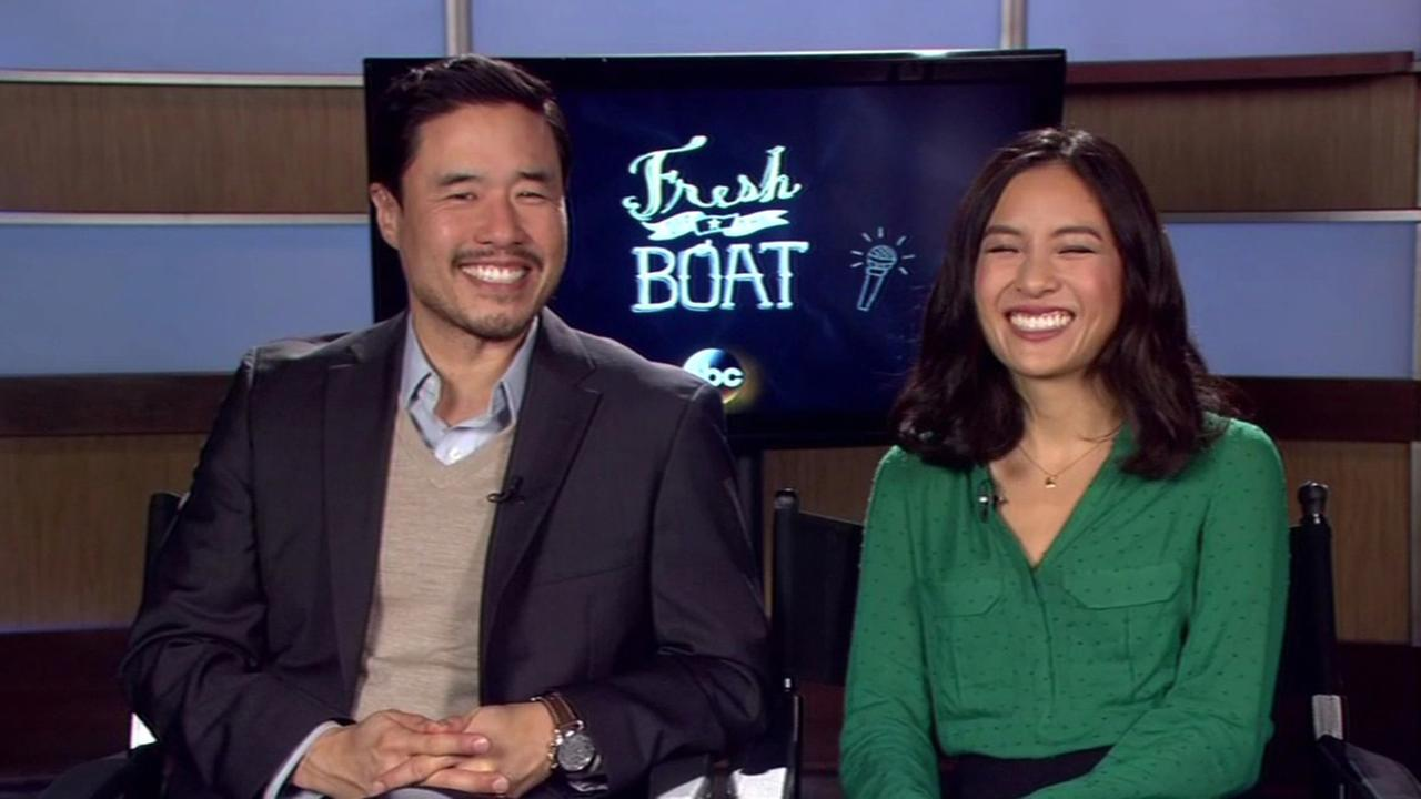 Fresh off the Boat stars