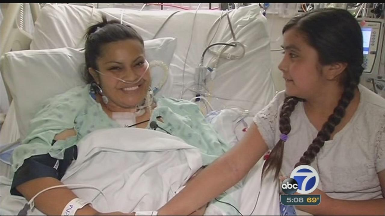 Young mom gets lifesaving gift for Mother?s Day