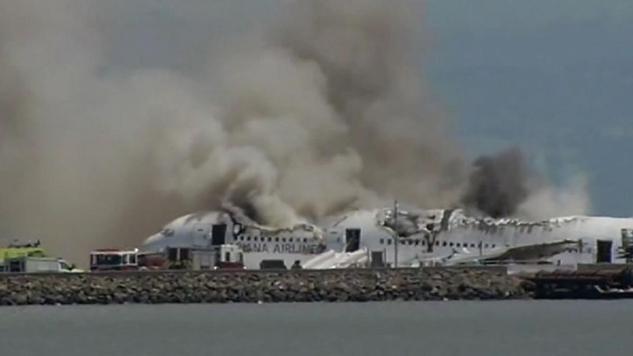 Asiana crash at SFO
