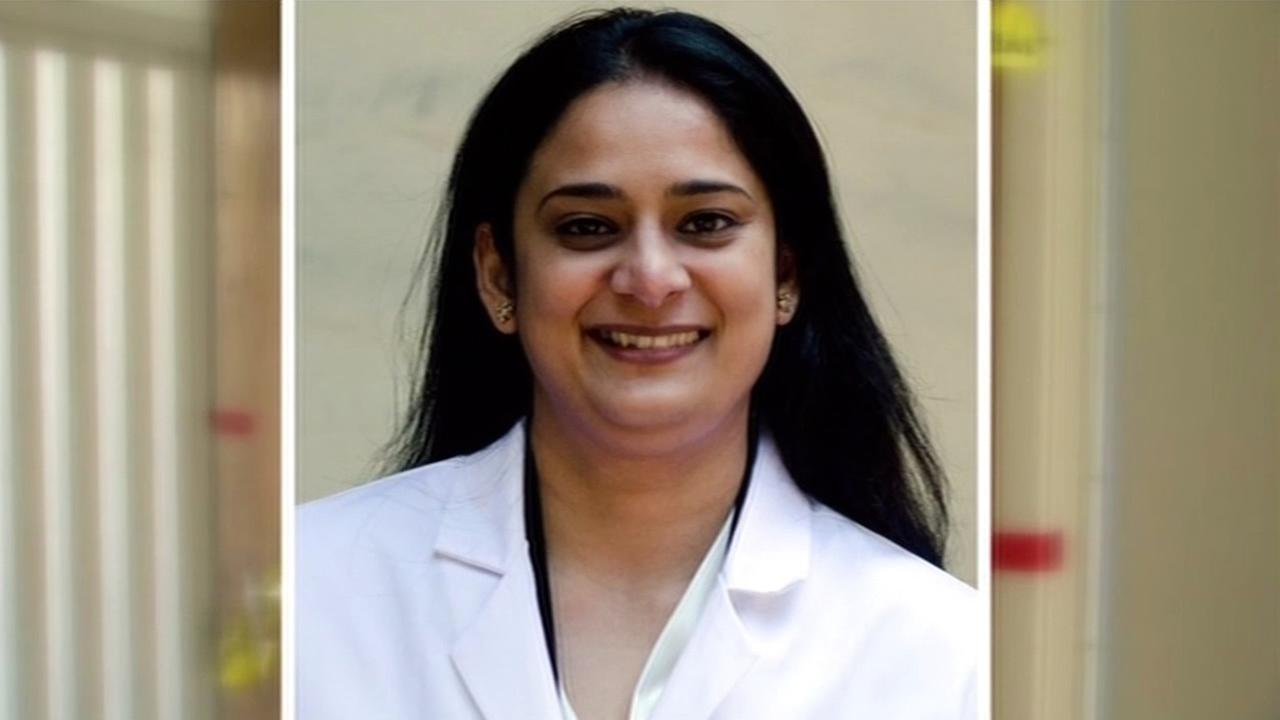 Randhir Paul, 37, was found dead Monday afternoon inside her apartment. A native of India, Paul was a student at the UCSF International Dental Program. (KGO)