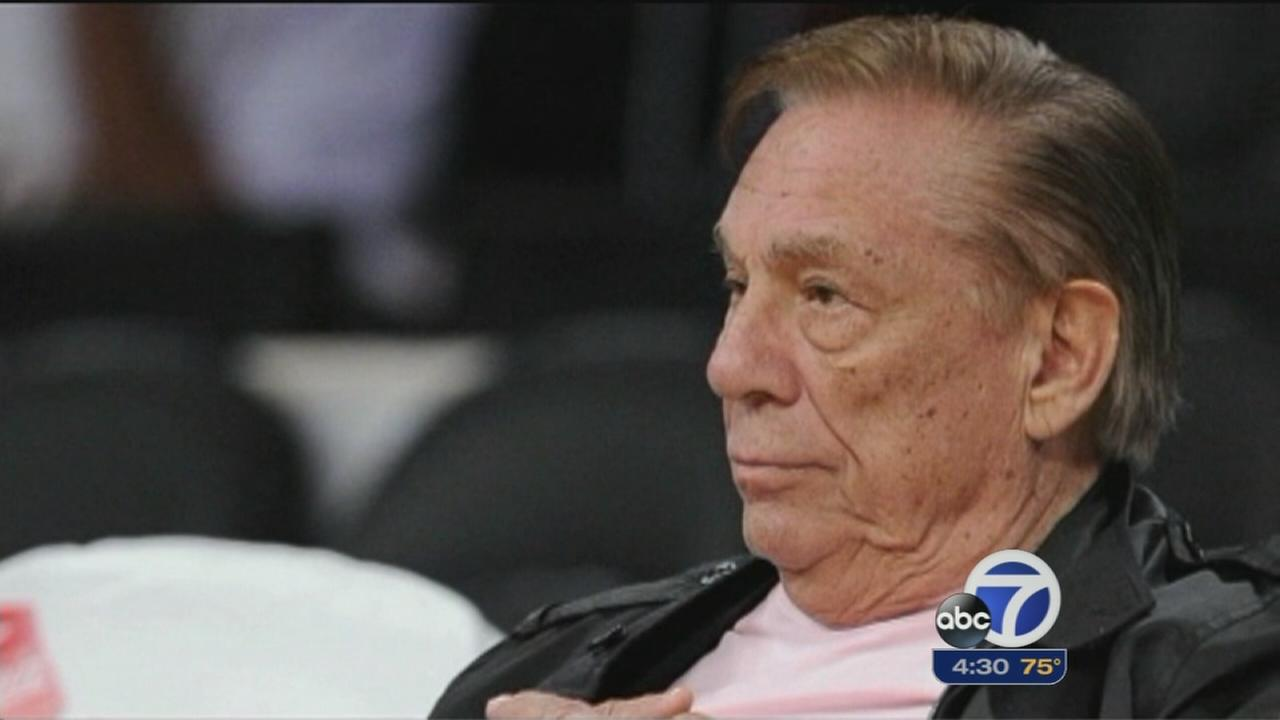 Donald, Shelly Sterling speak to media