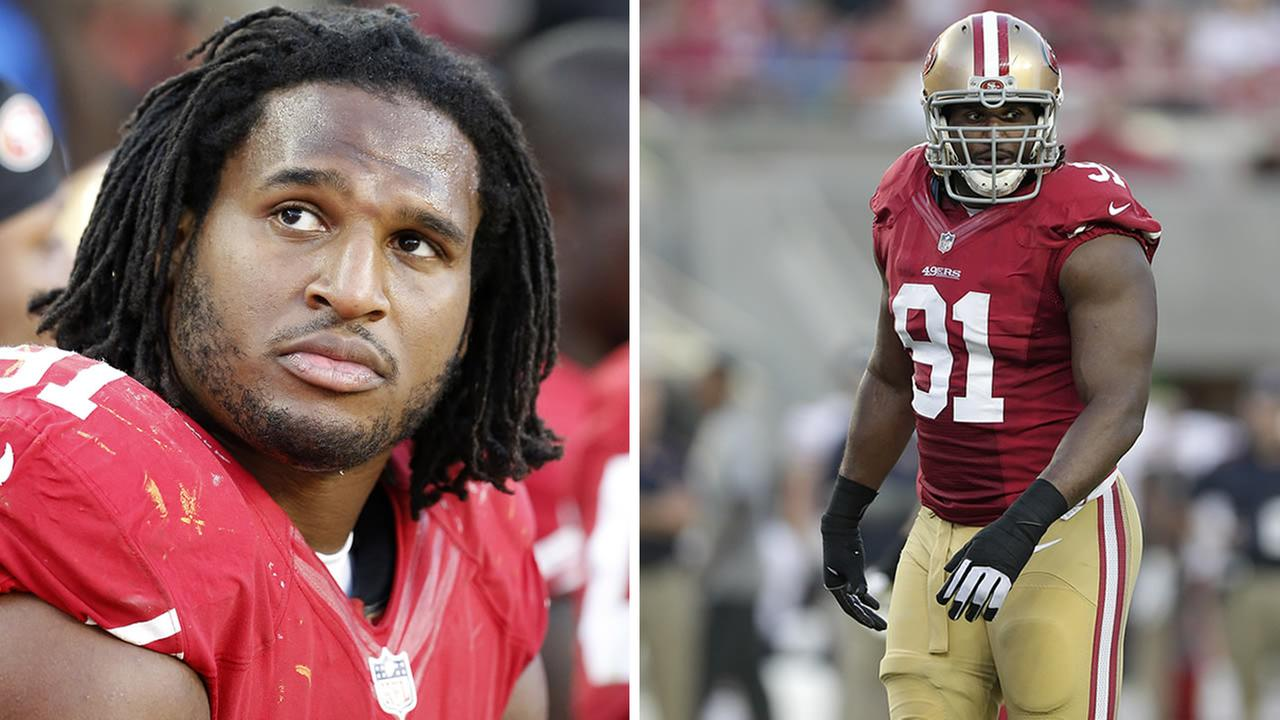 San Francisco 49ers defensive tackle Ray McDonald