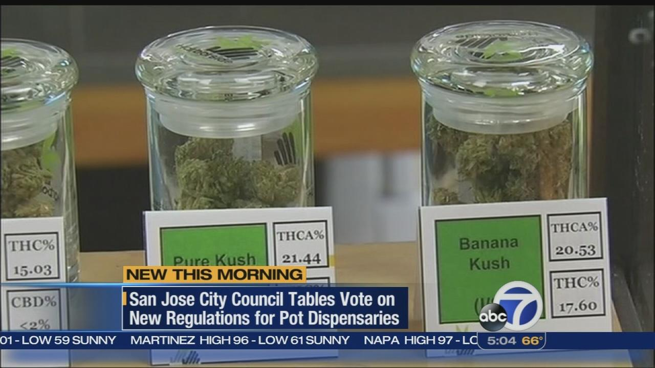Council delays vote on pot clubs in San Jose