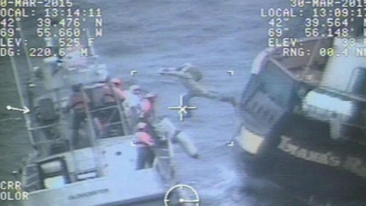 Coast Guard rescuing boaters