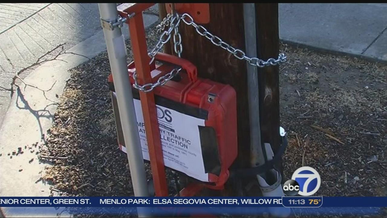 Security cameras coming down in Palo Alto