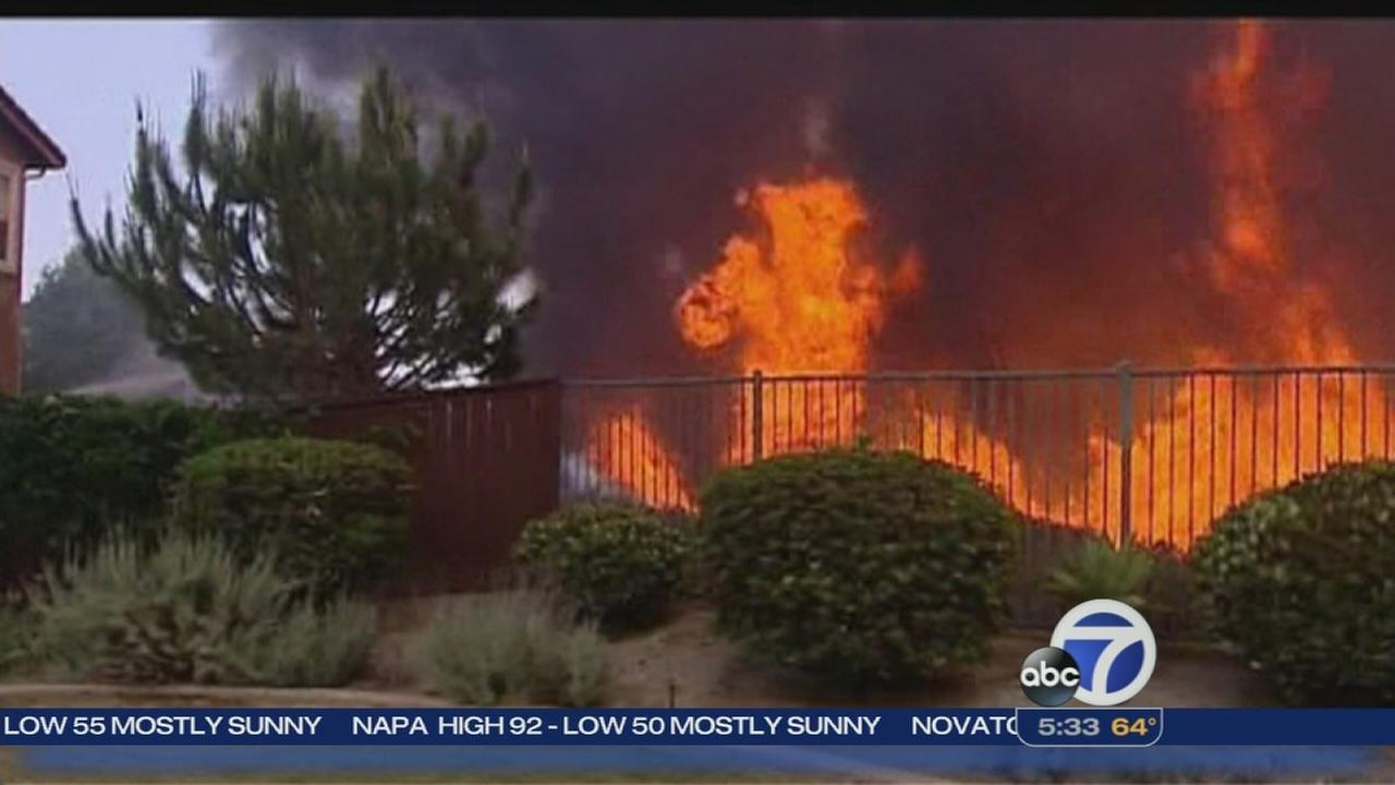 Firefighters battling 9 brush fire across SoCal