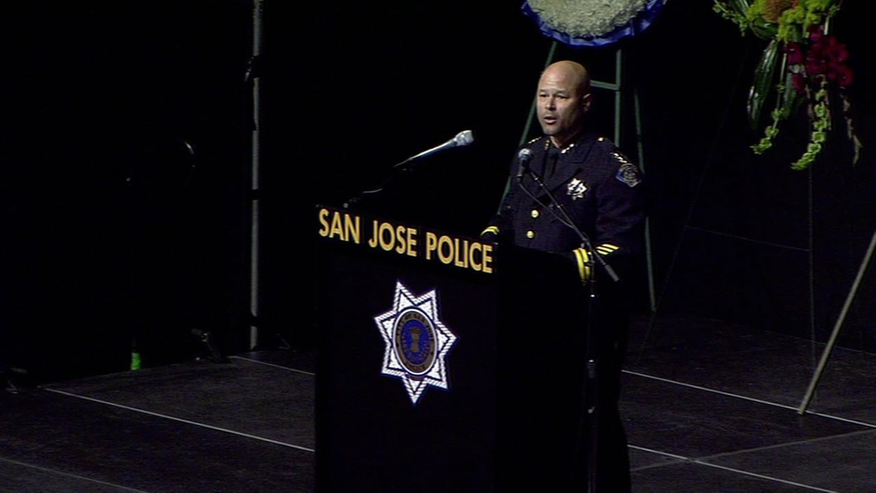 San Jose Assistant Police Chief Eddie Garcia.