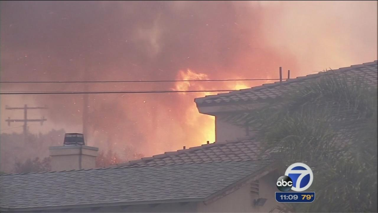 Firefighters trying to get upper hand on SoCal fires
