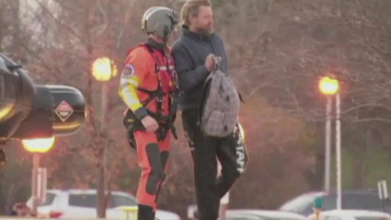 Coast Guard rescue of Louis Jordan.