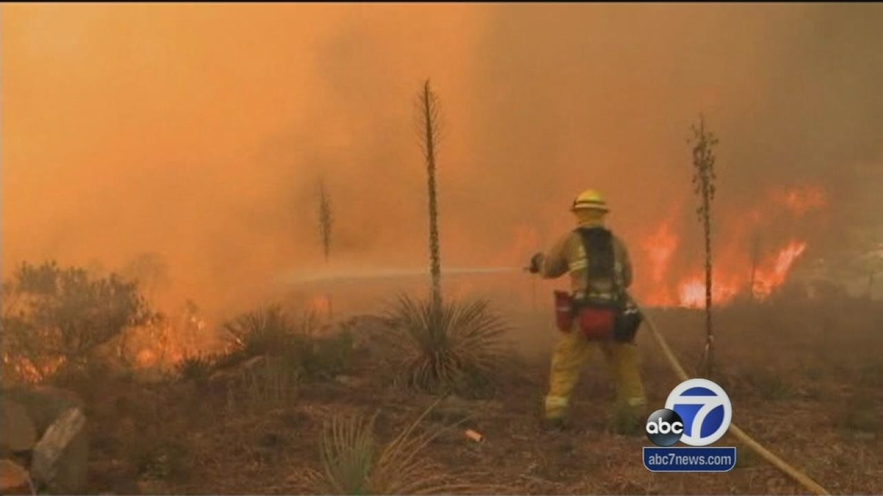 San Diego County fires prompt more evacuations