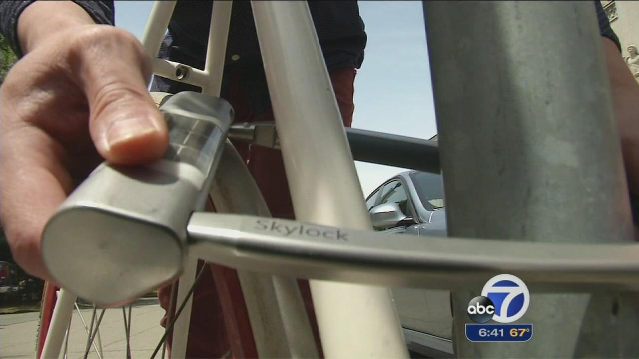 ?Smart? bike lock designed to deter thieves