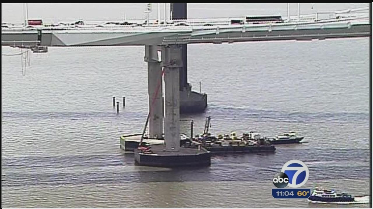 Caltrans says Bay Bridge is safe despite misalignment of rods