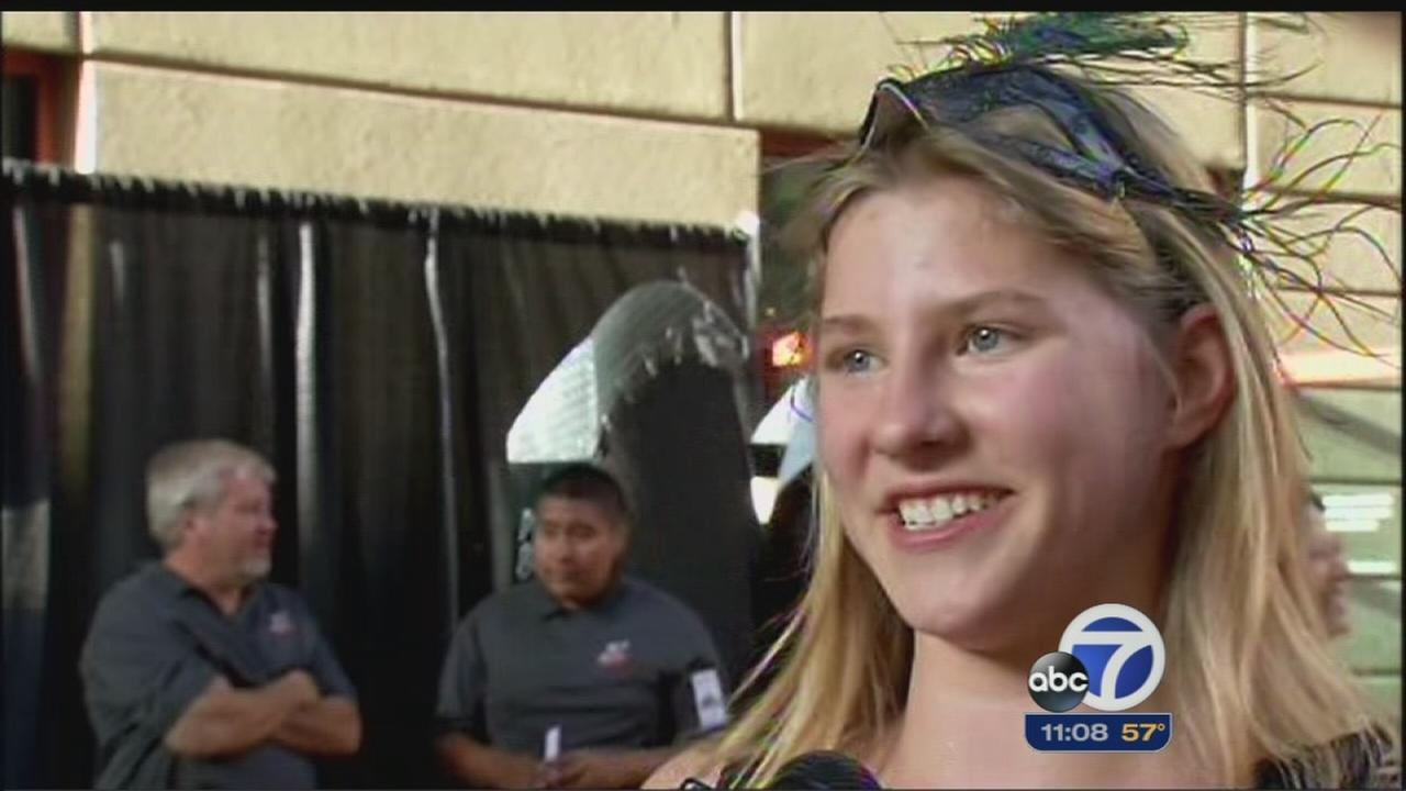 Kids forget about illness for the night at Stanford Hospital School Prom