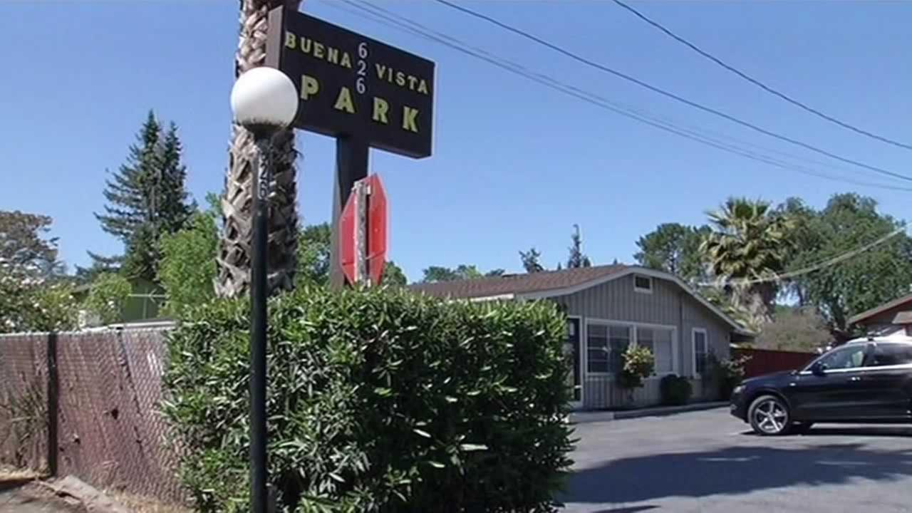 The Buena Vista Mobile Home Park in Palo Alto.