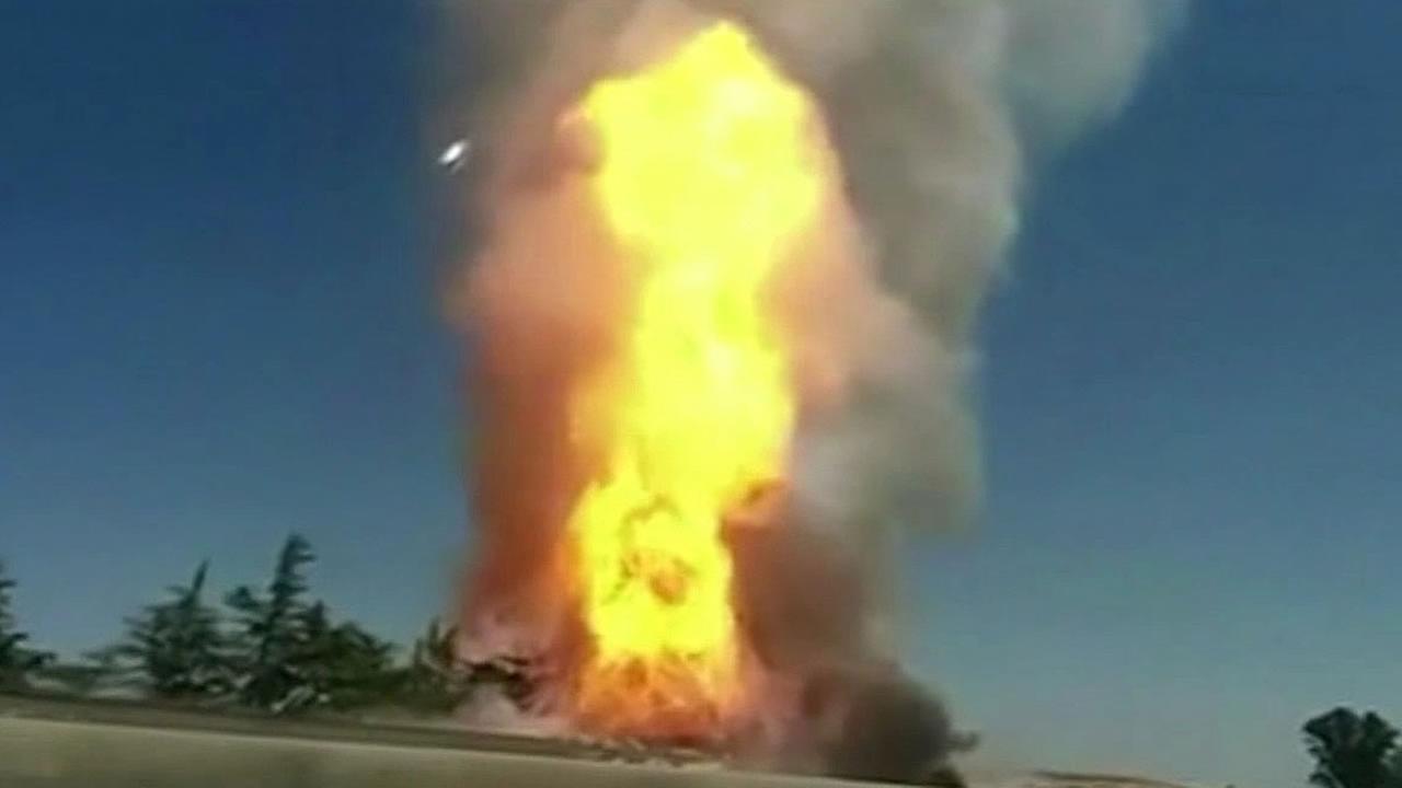 Fresno gas line explosion