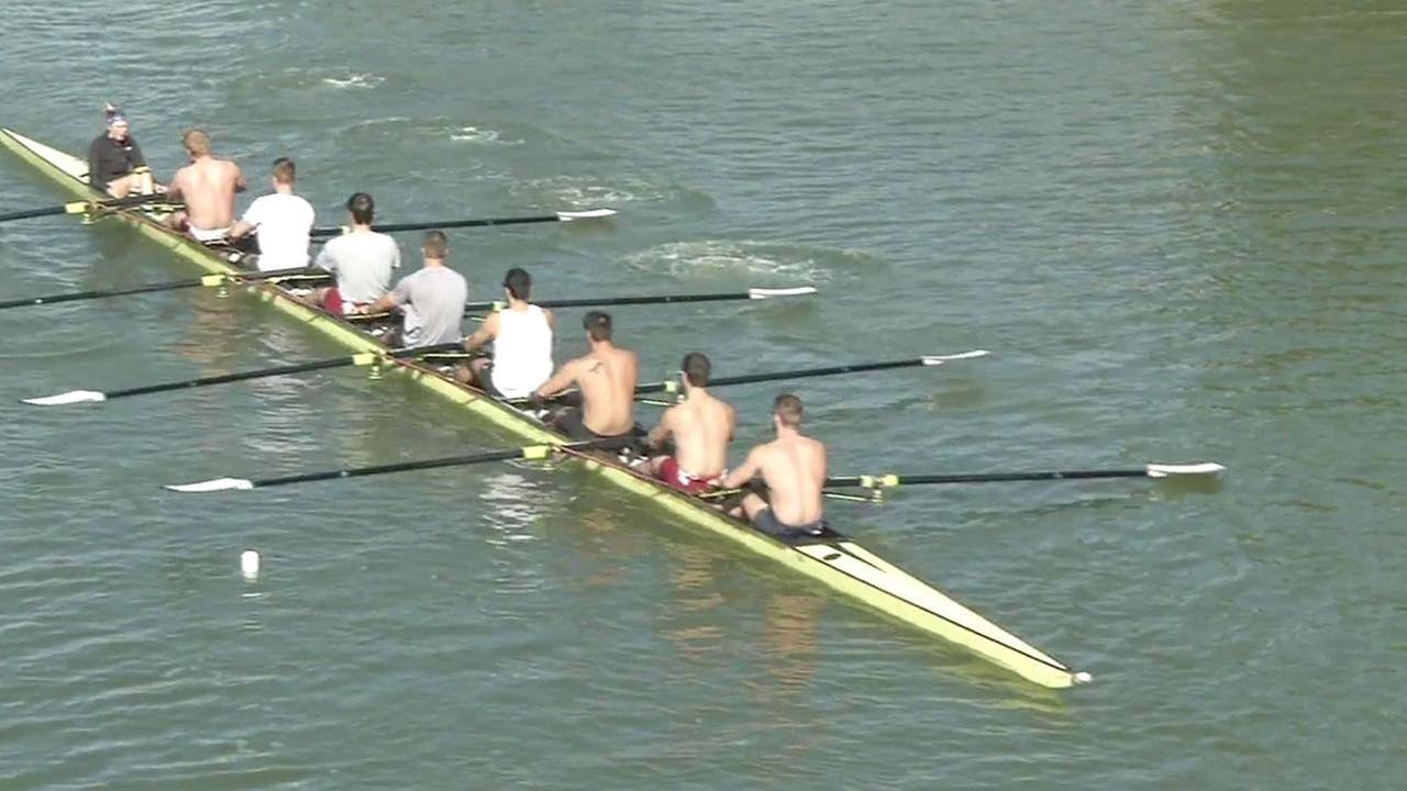 Stanford mens rowing team