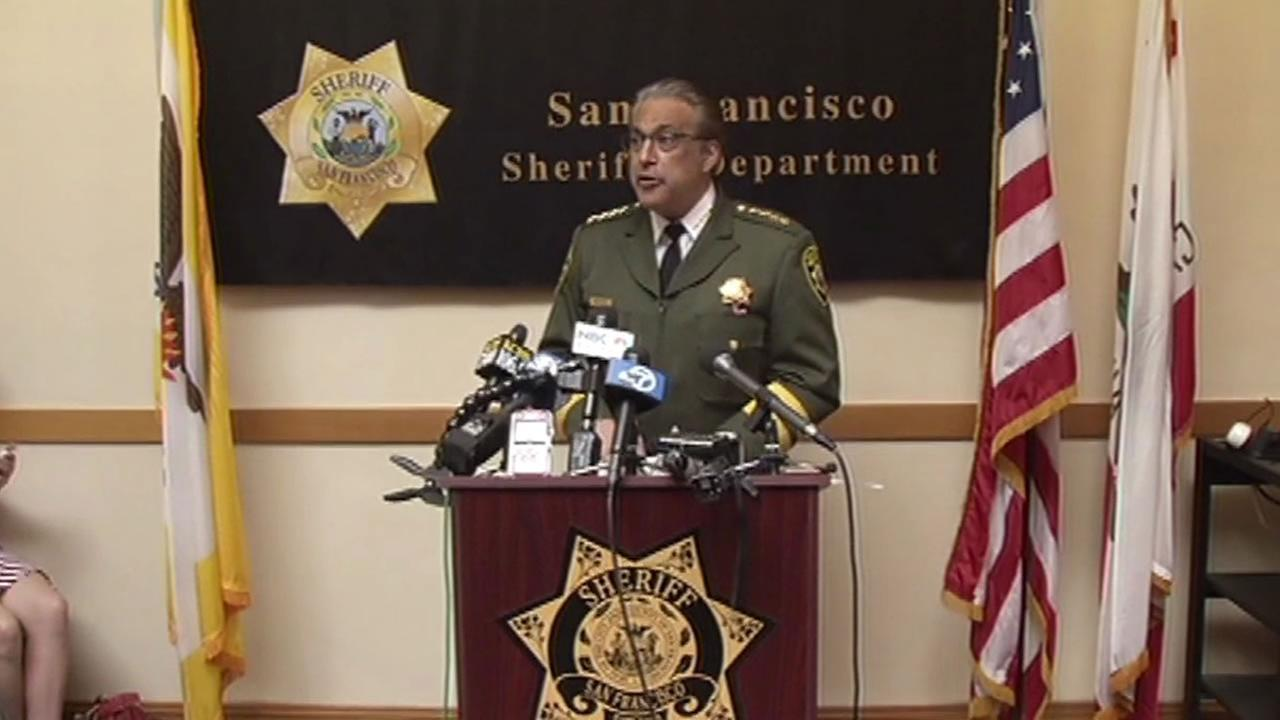 San Francisco Sheriff Ross Mirkarimi