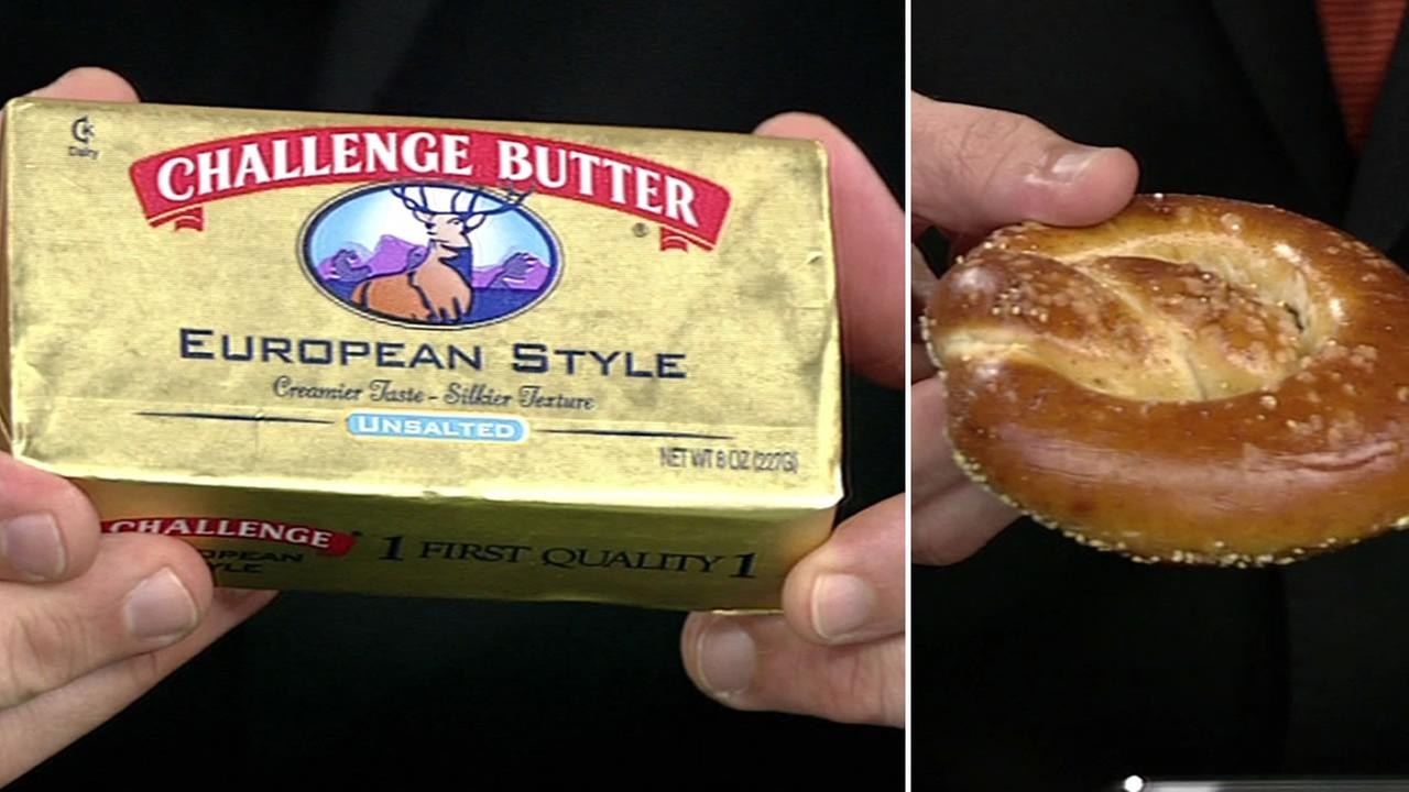 Challenge European Butter and pretzel